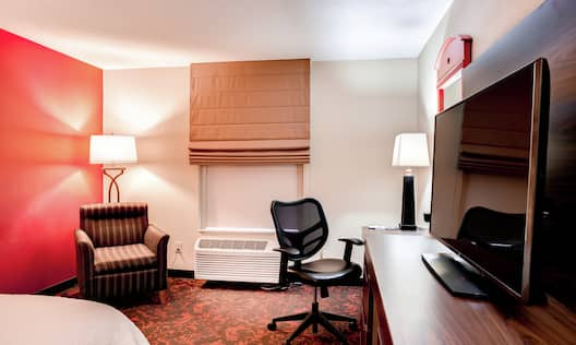 Guest Room with Work Desk, and HDTV