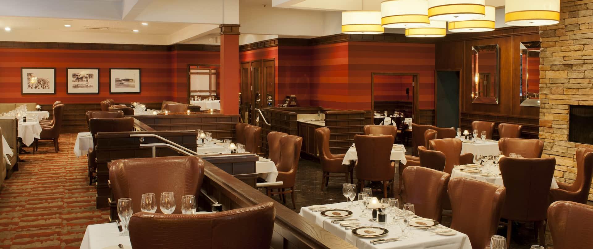 Porter's Steakhouse Interior