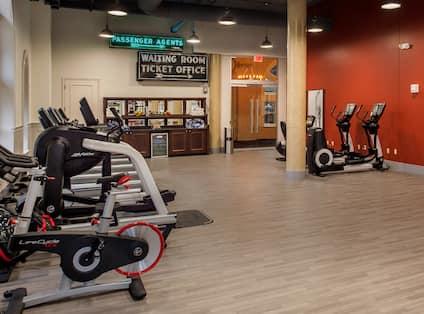 Fitness Center, Entrance
