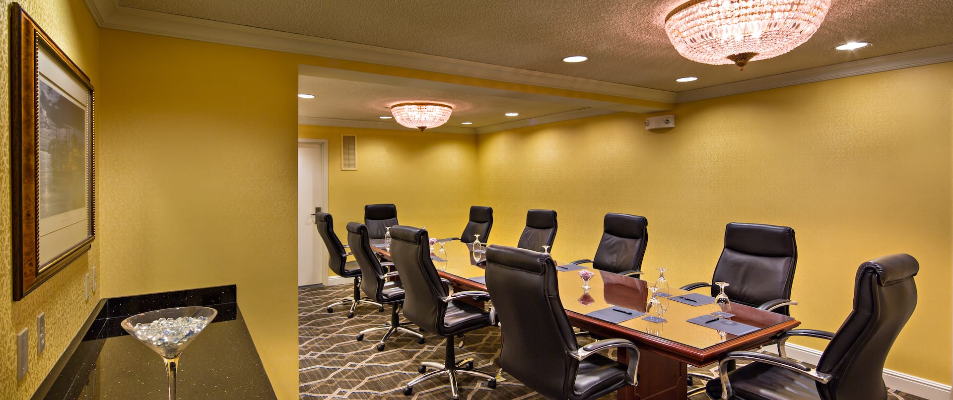 Boardroom With Chairs