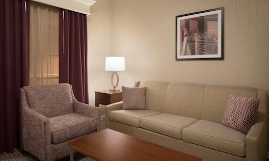King Junior Suite Living Area
