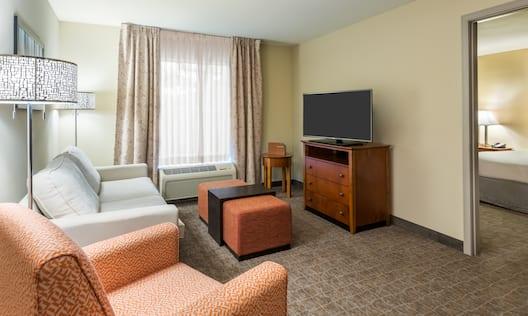 Living Room in 2 Bed Suite