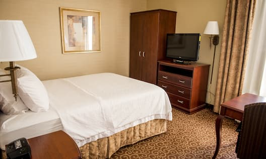 Guestroom with Queen Bed, Television and Work Desk