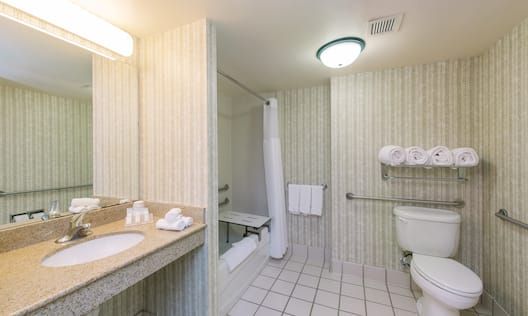 ADA Bathroom with Tub