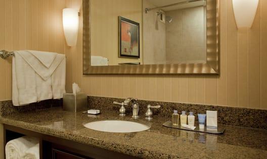 Guest Room Bathroom, Vanity Area