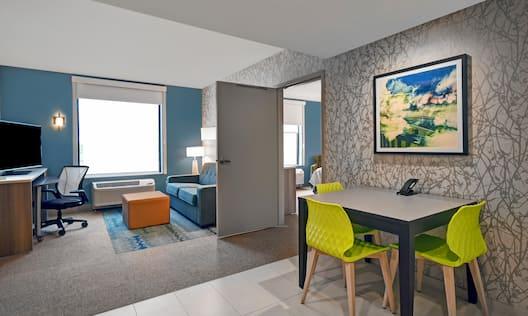 Accessible Guestroom Living Area
