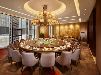 YUXI Private Dining Room