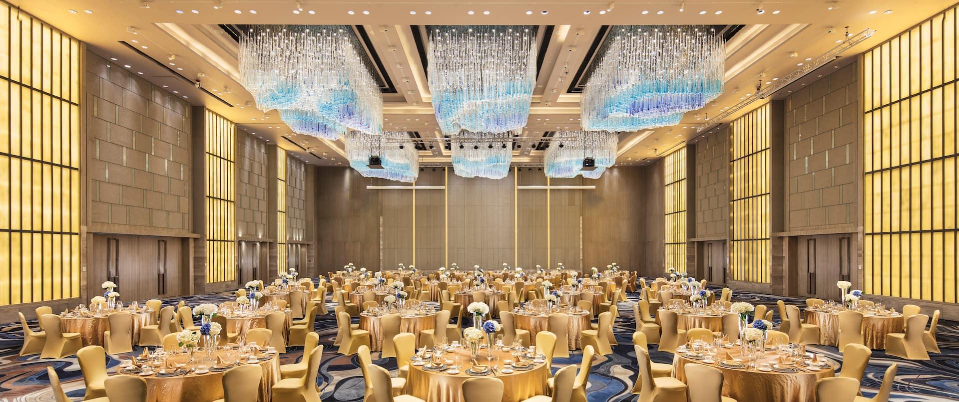 Sea World Grand Ballroom Setup Cabaret Style