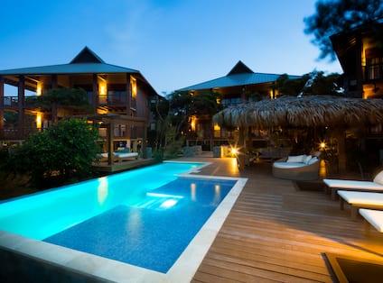 Pool in Evening