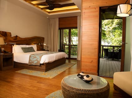 Room with Bed and Balcony