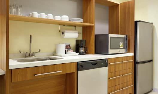 Accessible Studio Suite Kitchen