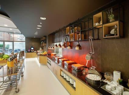 Breakfast Buffet Olive Tree Restaurant View