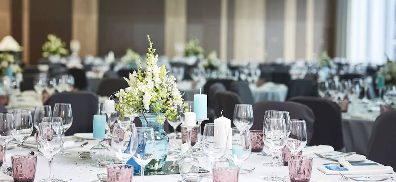 Ballroom Wedding Detail