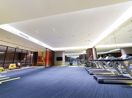Fitness Center and Workout Equipment