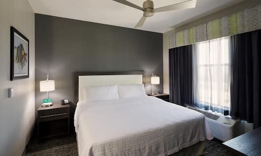 King Bed Guest Bedroom