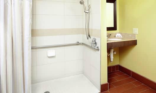 Accessible Hotel Guestroom Bathroom