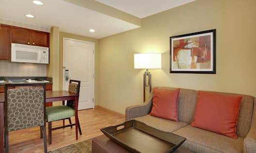 King Studio Living Area