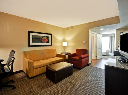 Seating Area in a Suite
