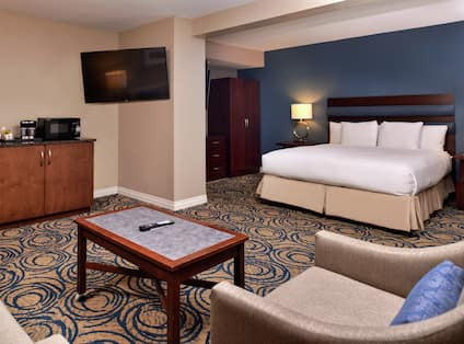 View Of Junior Suite With King Bed
