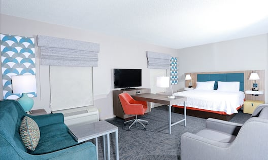 King Studio Suite with Sofa Bed TV and Desk
