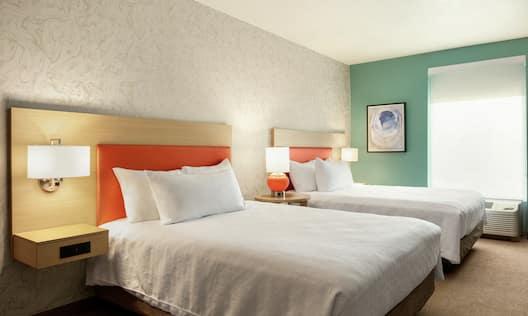 Studio Suite with Two Queen Beds