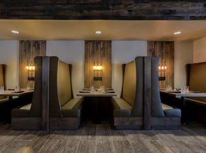 Hotel Restaurant Dining Area