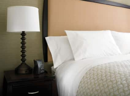 Luxurious Guest Bed with Hotel Radio Clock