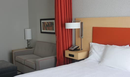 Accessible Guest Studio Bedroom