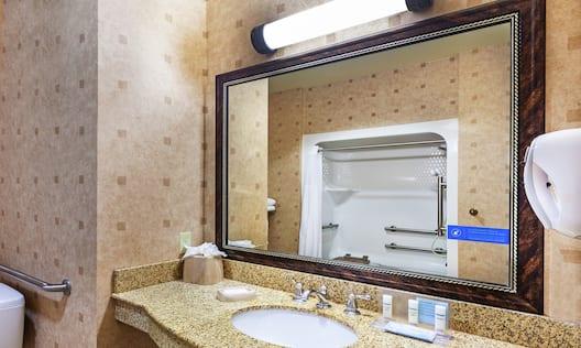 Accessible Bathroom Vanity Area
