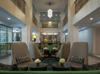 Commerce Lounge Lobby Area
