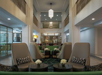 Commerce Lounge Lobby Area