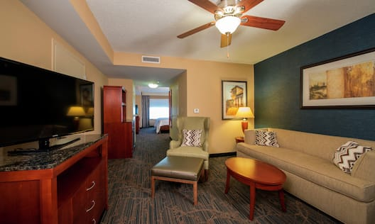 Hotel Guestroom Suite Living Area