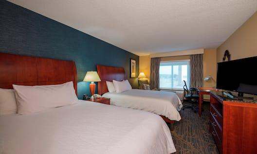 Double Queen Beds Hotel Guestroom