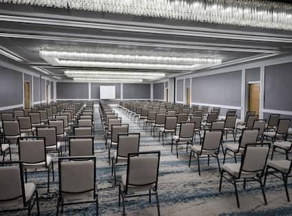 Mission Ballroom Setup Theater Style