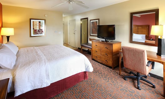 Guest Room with King Bed and Work Desk