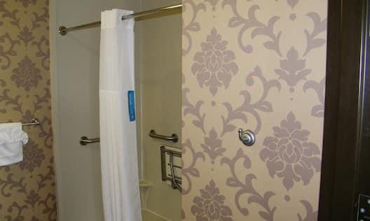 Accessible King Guestroom Suite Bathroom