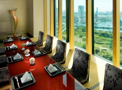 Formal private meeting room