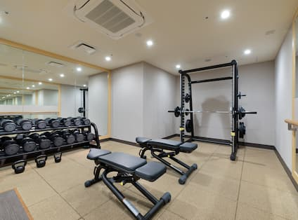 Fitness Center With Weight Equipment