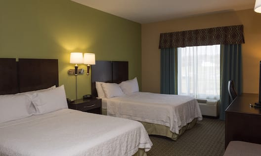 Two Queen Bed Hearing Accessible Guestroom