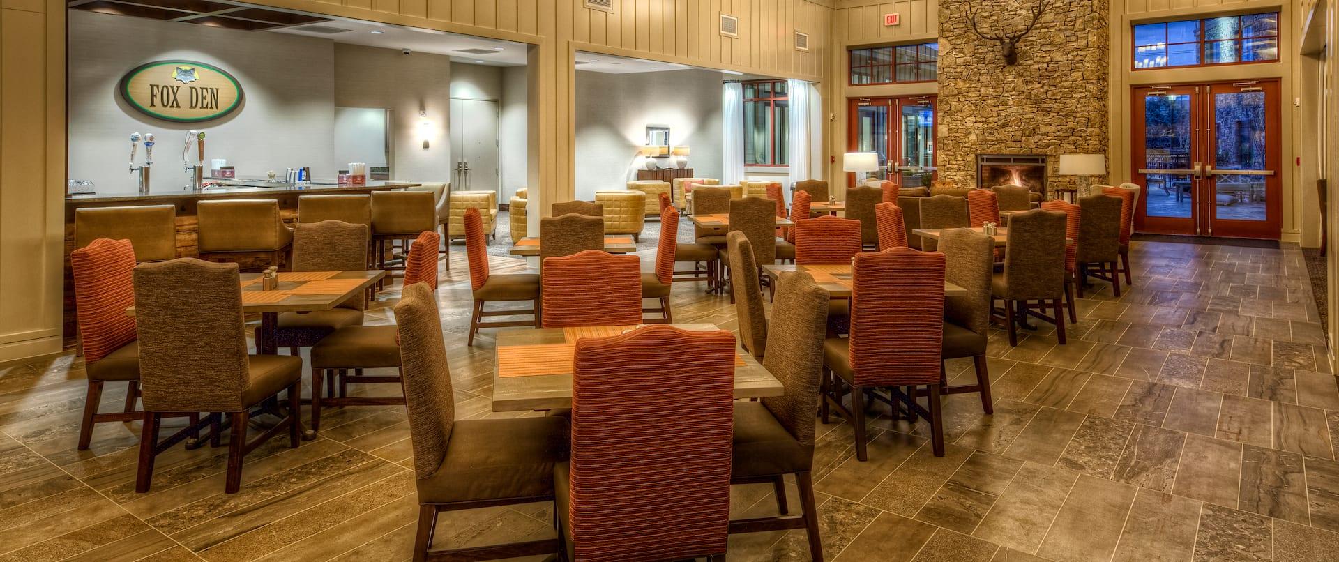 Fox Den Restaurant And Bar Dining Area
