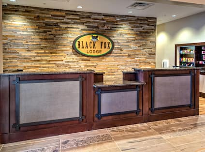 Hotel Front Desk And Snack Shop