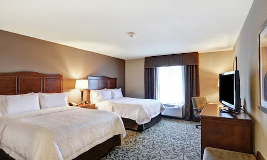 Two Queen-Size Beds Guest Room