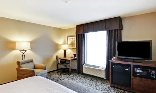 King-Size Bed Guest Room