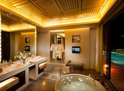 Three Bedroom Oceanview Pool Villa Bathroom