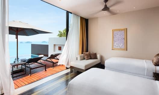Two Bedroom Villa Twin Bedroom