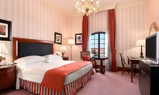 King Room with Chandelier