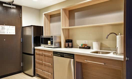 Kitchen Appliances and Amenities, and Entryway