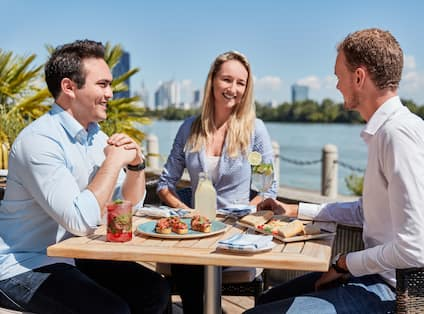 Water Front Kitchen Terrace Guests