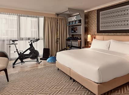 Five Feet to Fitness Room Bed