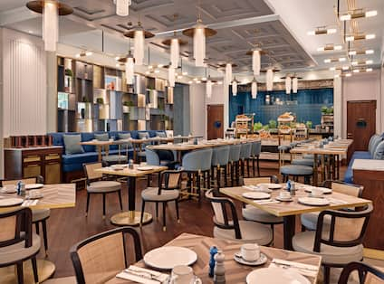 Lenz Restaurant Dining Area